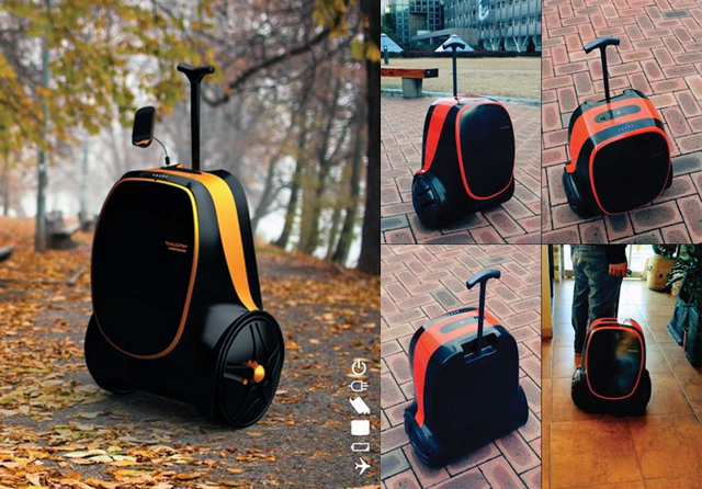 Чемодан-генератор Travel Changer Suitcase