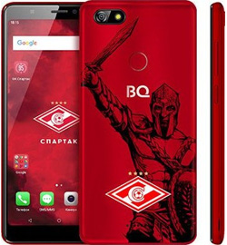 Смартфон BQ Advance Spartak Edition