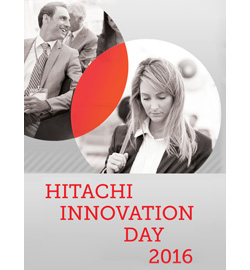 Hitachi Innovation Day 2016