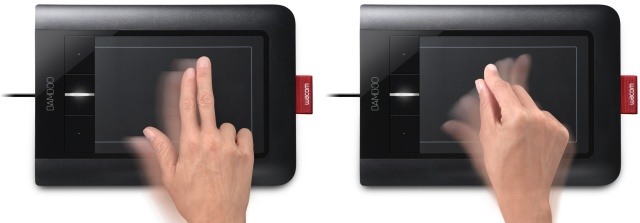 Графический планшет Wacom multi-touch